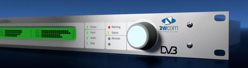 2wcom FlexDSR04+ – Профессиональный 4х канальный спутниковый DVB-S/S2 аудио приёмник-декодер с расширенными функциями резервирования
