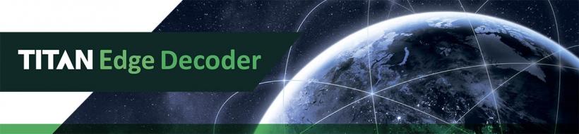 ATEME TITAN Edge Decoder - профессиональный SD / HD / 4K приемник-декодер HEVC, H264, MPEG2