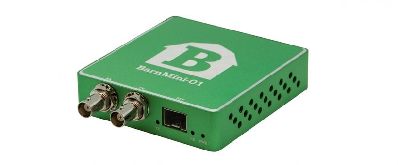 BarnMini-01 - Оптический конвертер SDI-SFP