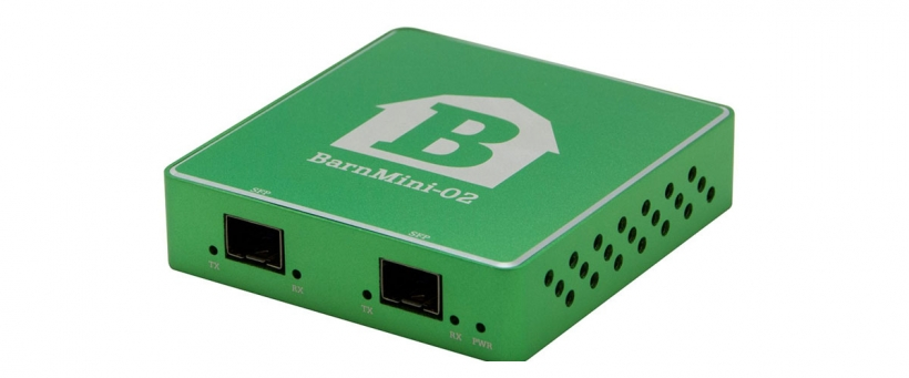 BarnMini-02 - Оптический конвертер SFP ASI/SDI/HDMI
