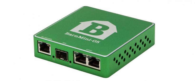 BarnMini-05 - Оптический конвертер 12xGPI/O - Еthernet