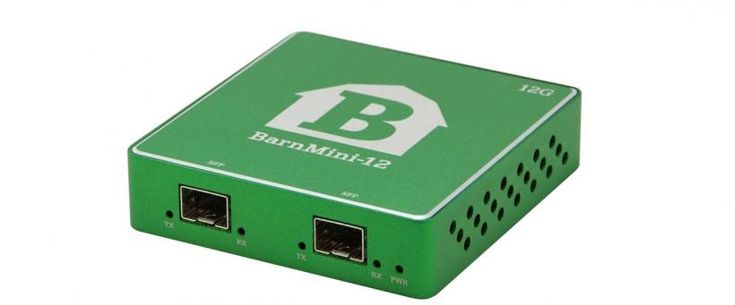 BarnMini-12 - Оптический конвертер SFP-SFP 12G