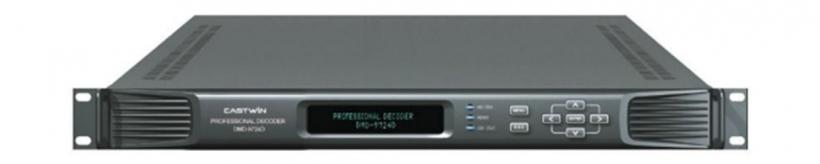 DMD-9724D - приемник-декодер MPEG-2 и H.264