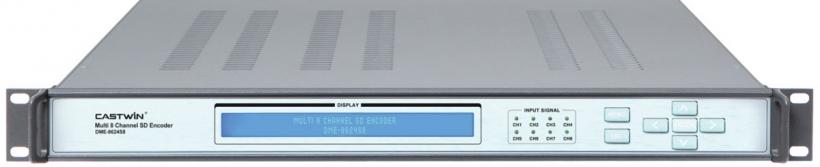 DME-8624S8 –видео кодер 8 канальный MPEG-2/4 AVC SD
