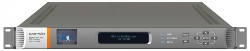 DME-9824HEVC – видео кодер 4K HEVC (H.265)