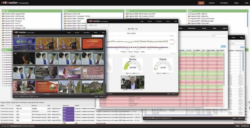 DVBMonitor - комплексный контроль качества цифрового вещания