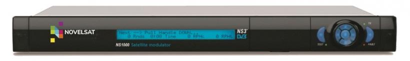 NovelSat NS1000 - спутниковый модулятор c поддержкой DVB-S/S2/S2X и NS3 и NS4