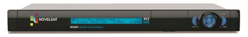NovelSat NS2000 - спутниковый демодулятор c поддержкой DVB-S/S2/S2X и NS3 и NS4