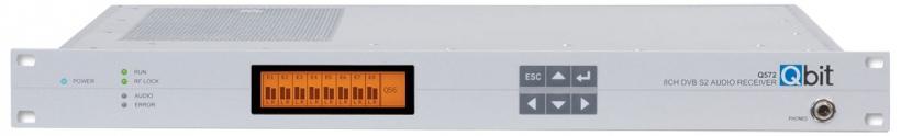 Q572 - аудиоприемник DVB-S2/IP