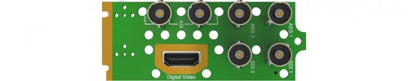 Интерфейсный модуль ASI приёмника-декодера AG 4400