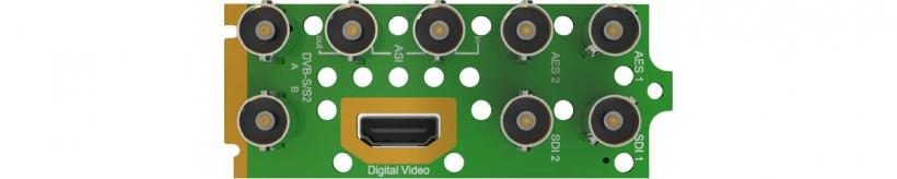 Интерфейсный модуль DVB-S/S2/S2X приёмника-декодера AG 5800