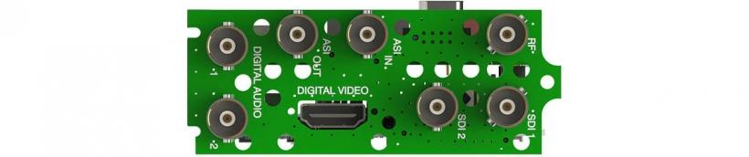 Интерфейсный модуль 8VSB/QAM-B или DVB-T/T2/C/C2/ISDB-T приёмника-декодера AG 5800