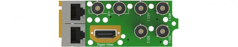 Интерфейсный модуль MPEG/IP приёмника-декодера AG 6000