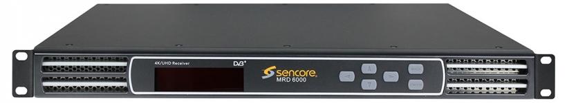 MRD 6000 – приёмник-декодер 4K/UHD