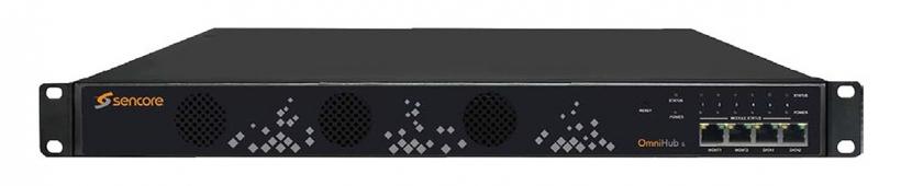 Sencore OmniHub 6 - многофункциональная компактная масштабируемая IP-TV / CATV головная станция для телевизионных операторов различного уровня
