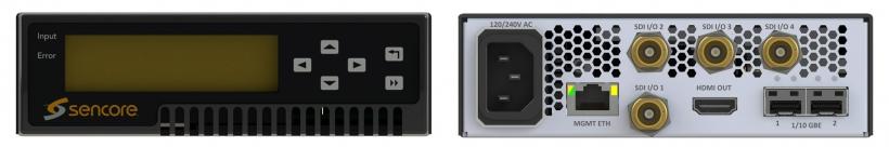 Sencore SDI2X – SDI/IP конвертер и JPEG 2000 кодер/декодер