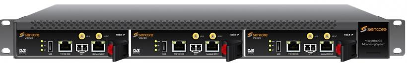 Sencore VideoBRIDGE VB220 - многоканальный анализатор / монитор транспортных потоков ASI, DVB-C, DVB-C2, DVB-T, DVB-T2, DVB-S, DVB-S2, IP TV, OTT. Анализ MDI, ETR, SCTE-35 и др.