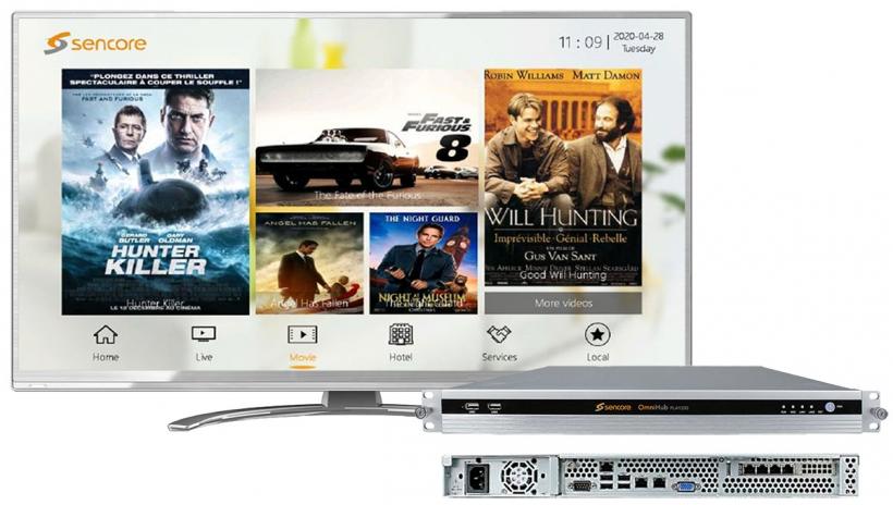 Sencore OmniHub PLAY - Middleware IP TV для управления медиконтентом