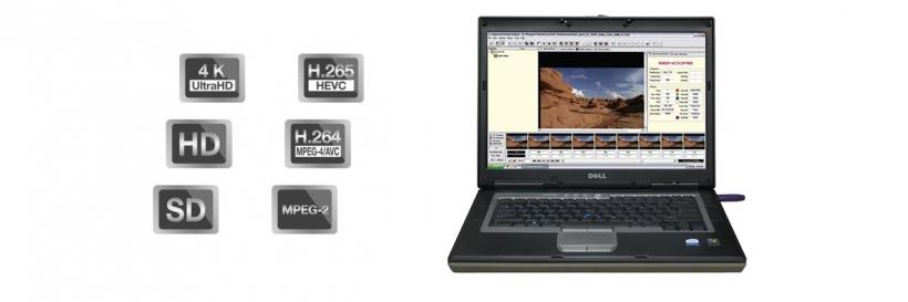 Sencore CMA 1820, анализатор компрессированного видео и аудио, HEVC/H.265, H.264, MPEG2