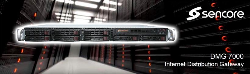 Sencore DMG 7000 - шлюз конвертер транспортных потоков TV/IP и стример для передачи видео через интернет по протоколам SRT/ZiXi/RIST/HLS/UDP/RDP/SMPTE 2022-7
