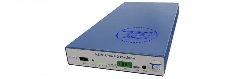 T9261-D – универсальный IP/OTT/HLS приемник-декодер и IP стример