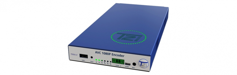T23 – компактный IP/OTT/HLS приемник-декодер 4K HDR Ultra-HD