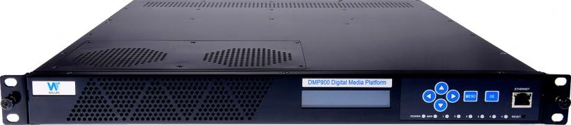 Wellav DMP-900, головная станция DVB-S/S2/C/C2/T/T2, трансмодулятор DVB-S2, IP QAM модулятор, мультиплексор, кодер MPEG-2/H.264/H.265, транскодер, приемник, декодер