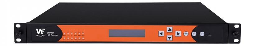 SMP181 – приемник-декодер HLS двухканальный
