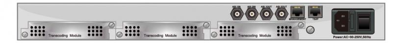 SMP210T - многоканальный видео/аудио транскодер MPEG-2/H.264 SD