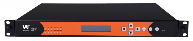 SMP350 - конвертер-шлюз ASI / IP