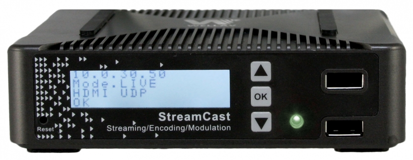 Wellav StreamCast NB100 – портативный кодер / QAM модулятор / стример