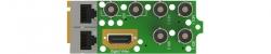 Интерфейсный модуль MPEG/IP приёмника-декодера AG 4400