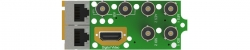 Интерфейсный модуль MPEG/IP приёмника-декодера AG 5800